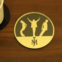 Coaster | Black & Gold | Mj 1