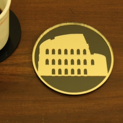 Coaster | Black & Gold | Rome 1