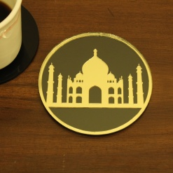 Coaster | Black & Gold | Taj 1