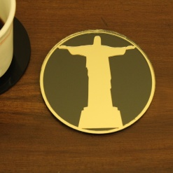 Coaster | Black & Gold | The Redeemer 1