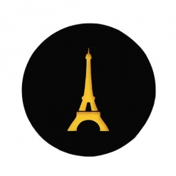 Coaster | Black & Yellow | Eiffel Tower 4