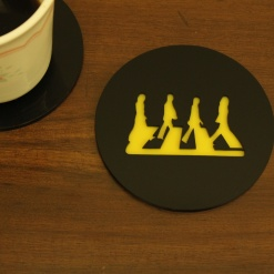 Coaster | Black & Yellow | Legend 1