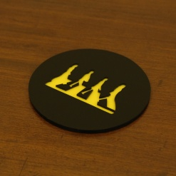 Coaster | Black & Yellow | Legend 2