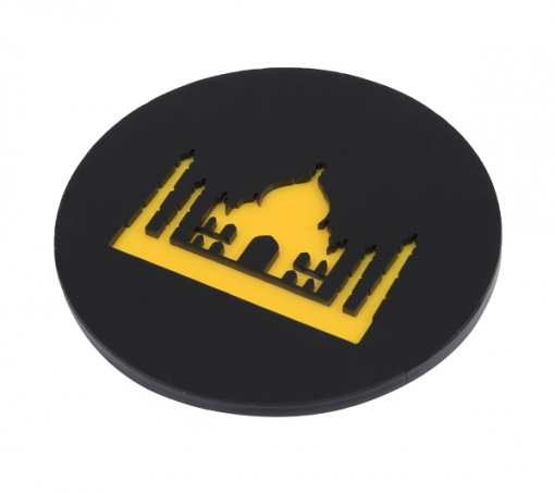 Coaster | Black & Yellow | Taj 3