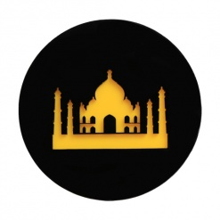 Coaster | Black & Yellow | Taj 4
