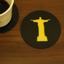 Coaster | Black & Yellow | The Redeemer 1