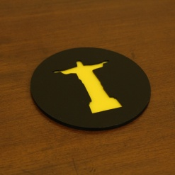 Coaster | Black & Yellow | The Redeemer 2