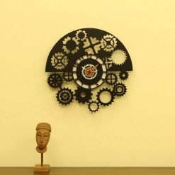 I Am Gear Head Wall Clock -1