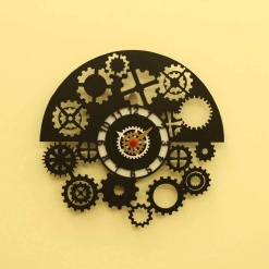 I Am Gear Head Wall Clock -2