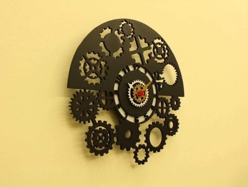 I Am Gear Head Wall Clock -3
