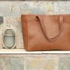 Leather Bag | Brown Tote-3