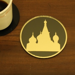 Coaster | Black & Golden | Russian Church 1