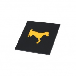 Coaster | Black & Yellow | Adorable Dog 2