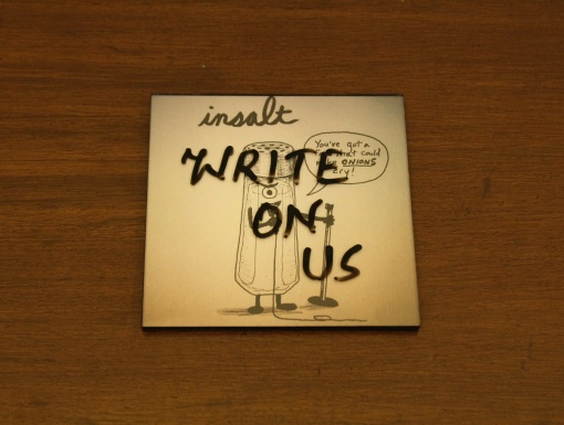 Coaster | Re-Writable | Insalt 3
