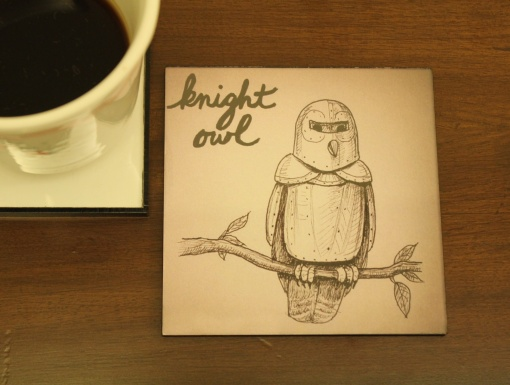 Coaster | Re-Writable | Knight Owl 1