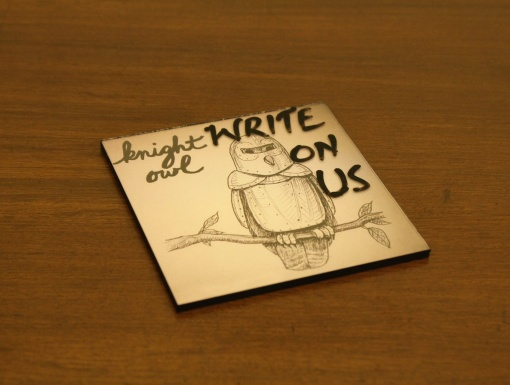Coaster | Re-Writable | Knight Owl 3