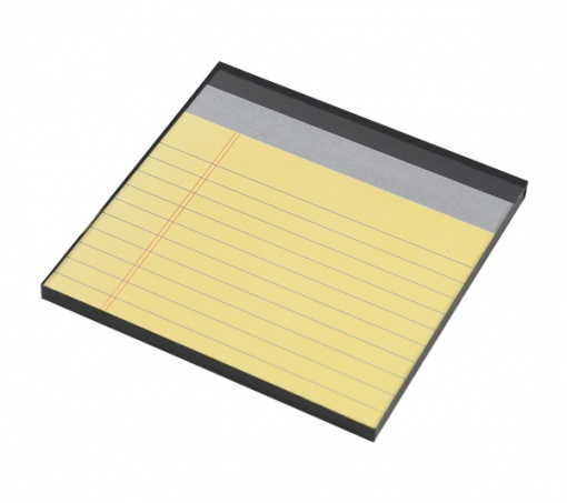 Coaster | Re-Writable | Yellow Notepad 5