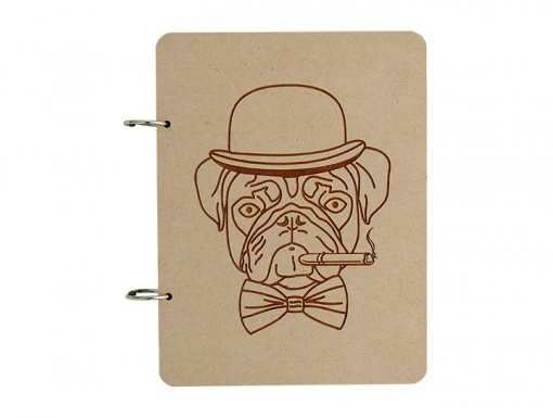 Diary Gangster Pug1