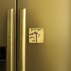 Fridge Magnet Re-Writable | Fund Razor 4