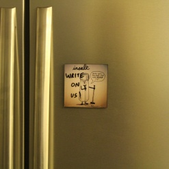 Fridge Magnet Re-Writable | Insalt 4