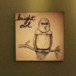 Fridge Magnet Re-Writable | Knight Owl 3