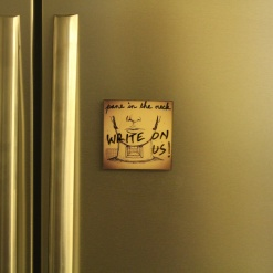 Fridge Magnet Re-Writable | Pane In The Neck 4