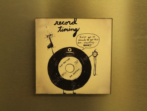 Fridge Magnet Re-Writable | Record Timing 3
