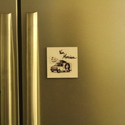 Fridge Magnet Re-Writable | Van Morrison 1