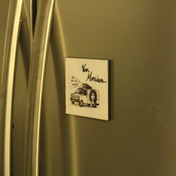 Fridge Magnet Re-Writable | Van Morrison 2
