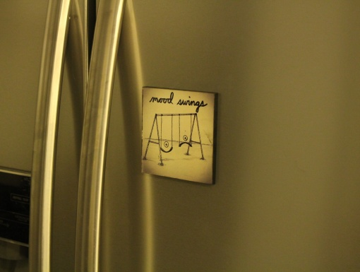 Fridge Magnet ReWritable Mood Swings2