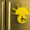 Fridge Magnet With Clock & Re-writable Travel With Dogs (Man)1