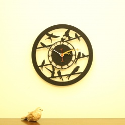 I Love Birds Wall Clock (6)