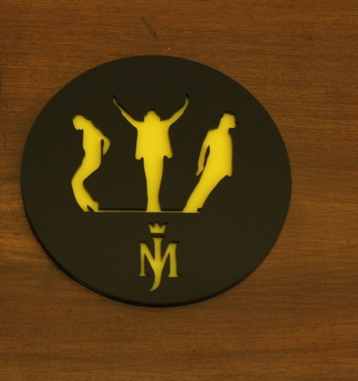 Coaster | Black & Yellow | Mj-3