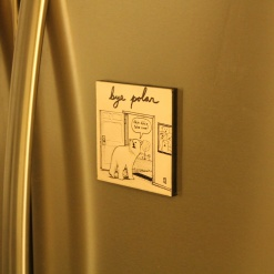 Fridge Magnet Re-Writable | Bye Polar 1