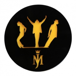 Coaster | Black & Yellow | Mj-2