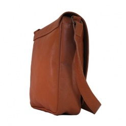 LEATHER BAG TAN CLASSIC MESSENGER SLING5