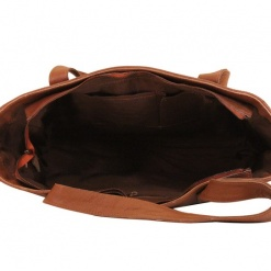 Leather Bag Brown Tote3