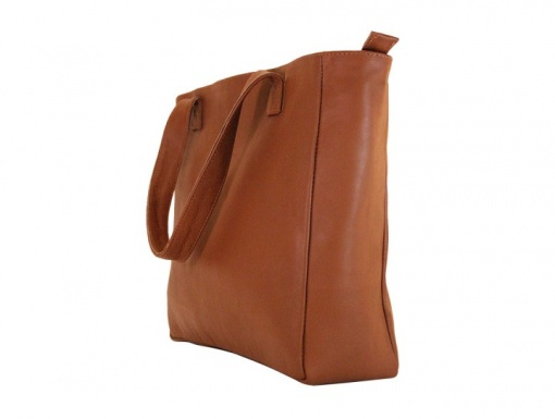 Leather Bag Brown Tote4