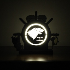 Lamp Come Accessory Holder | Wolf