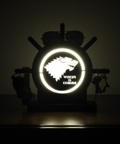 Lamp Come Accessory Holder   Wolf