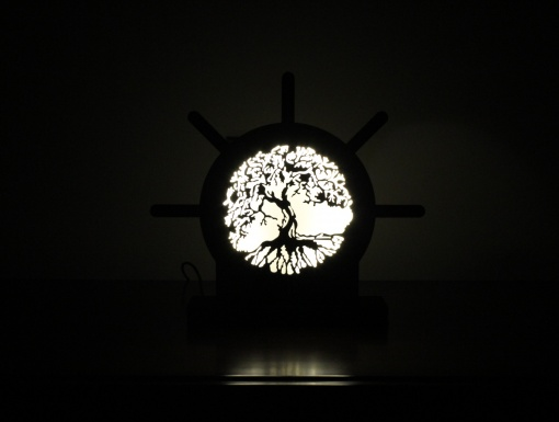 Lamp Come Accessory Holder | Speaking Tree 1