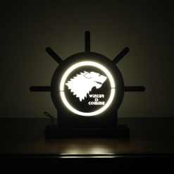Lamp Come Accessory Holder | Wolf 1