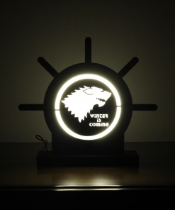 Lamp Come Accessory Holder   Wolf 1