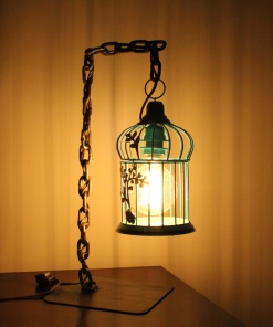 Lamp In Metal | Bird Cage Chain 2