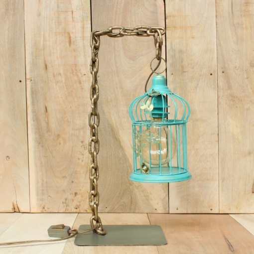 Lamp In Metal | Bird Cage Chain 4