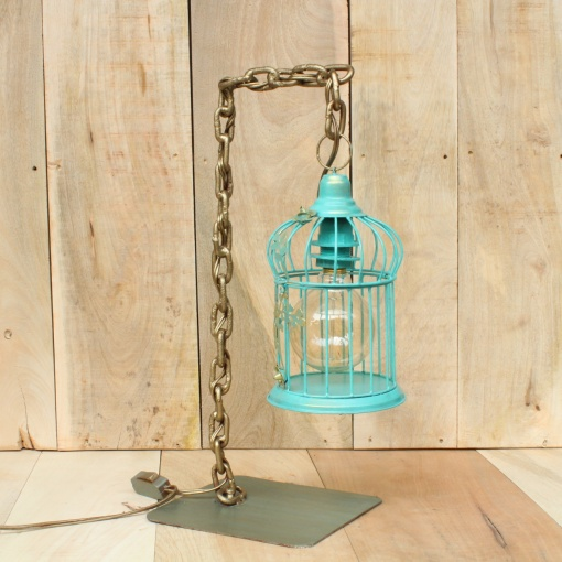 Lamp In Metal | Bird Cage Chain 5