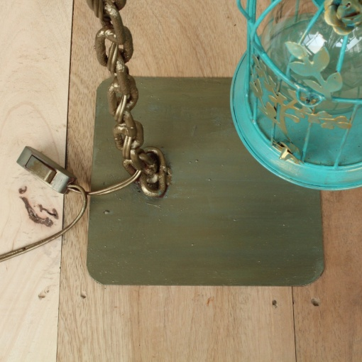 Lamp In Metal | Bird Cage Chain 7