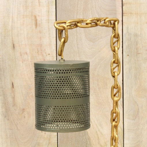 Lamp In Metal | Chain Stand 5