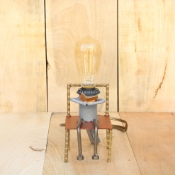 Lamp In Metal | I Love Reading 4