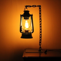 Lamp In Metal | Lantern Chain 1